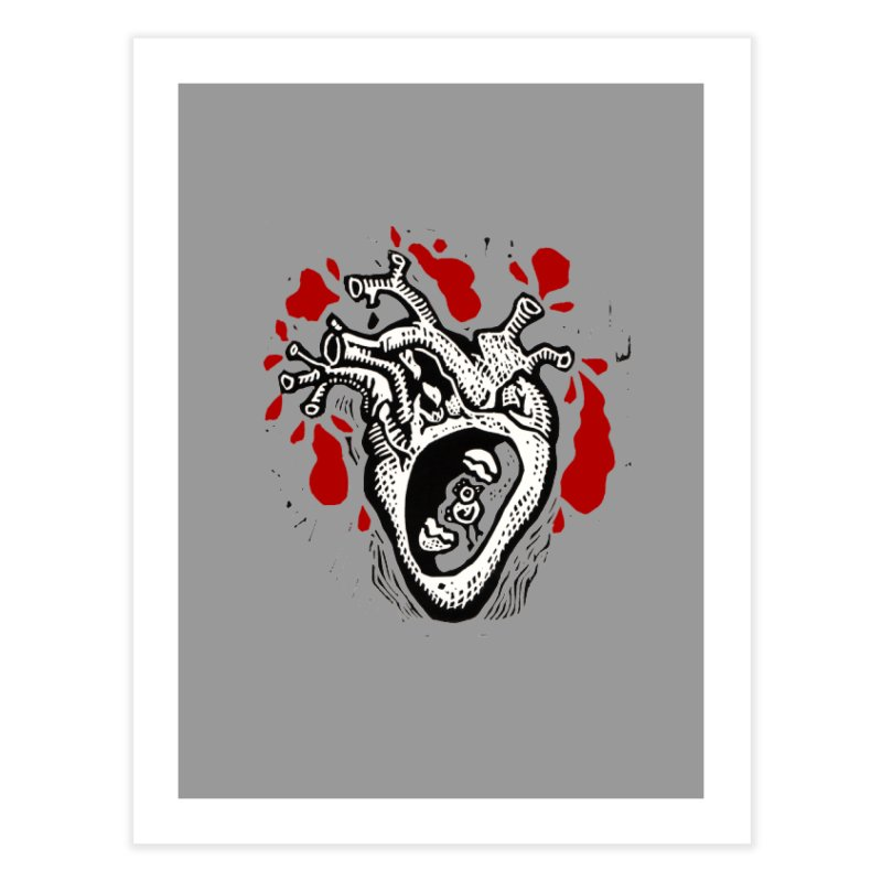 In my heart of hearts Home Fine Art Print by kotocut's Artist Shop