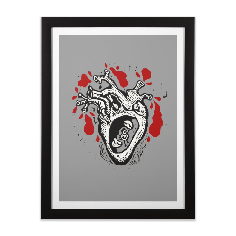 In my heart of hearts Home Framed Fine Art Print by kotocut's Artist Shop
