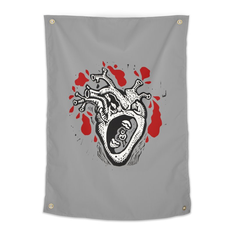 In my heart of hearts Home Tapestry by kotocut's Artist Shop