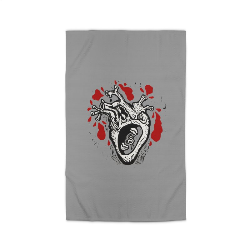 In my heart of hearts Home Rug by kotocut's Artist Shop