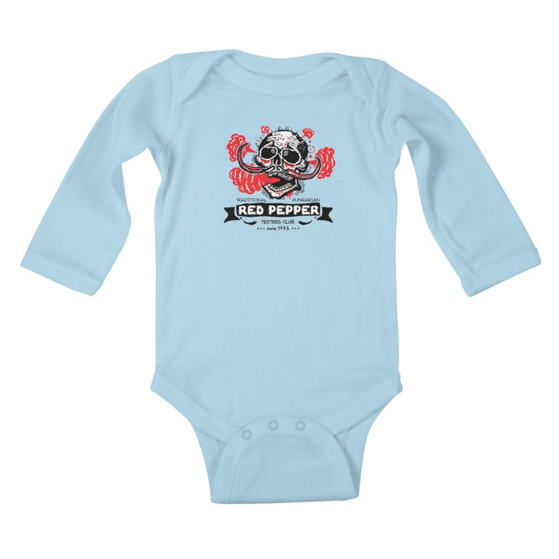 Testers club Kids Baby Longsleeve Bodysuit by kotocut's Artist Shop