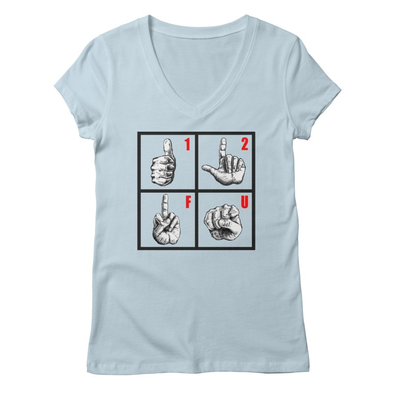 Math lesson Women's Regular V-Neck by kotocut's Artist Shop