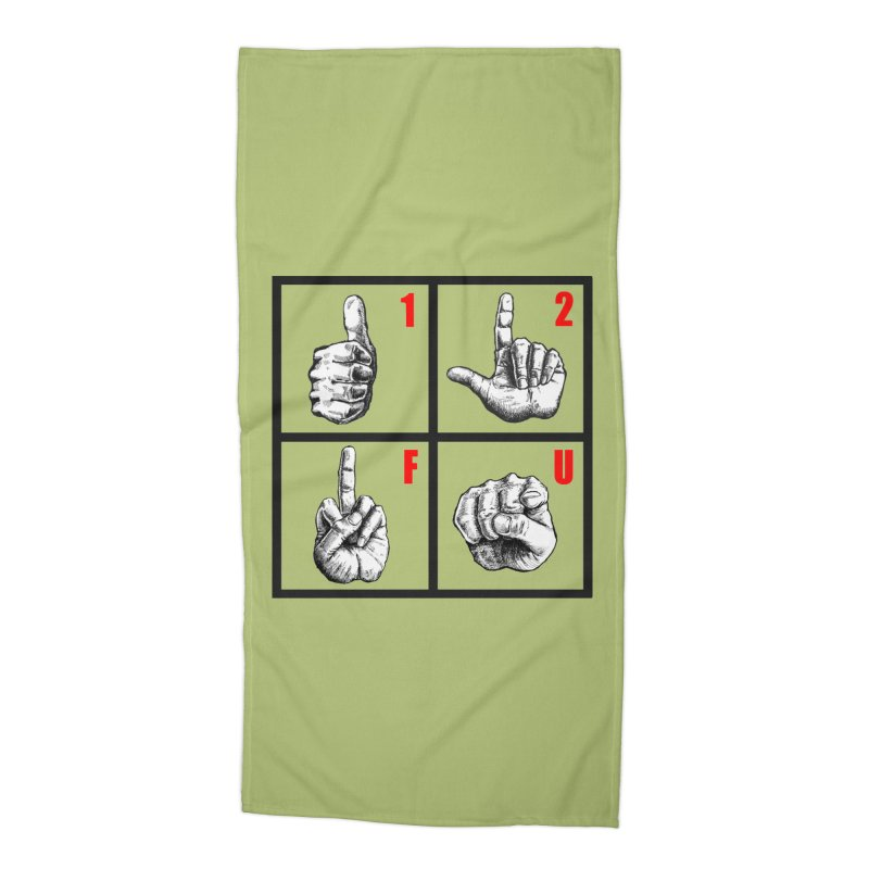 Math lesson Accessories Beach Towel by kotocut's Artist Shop