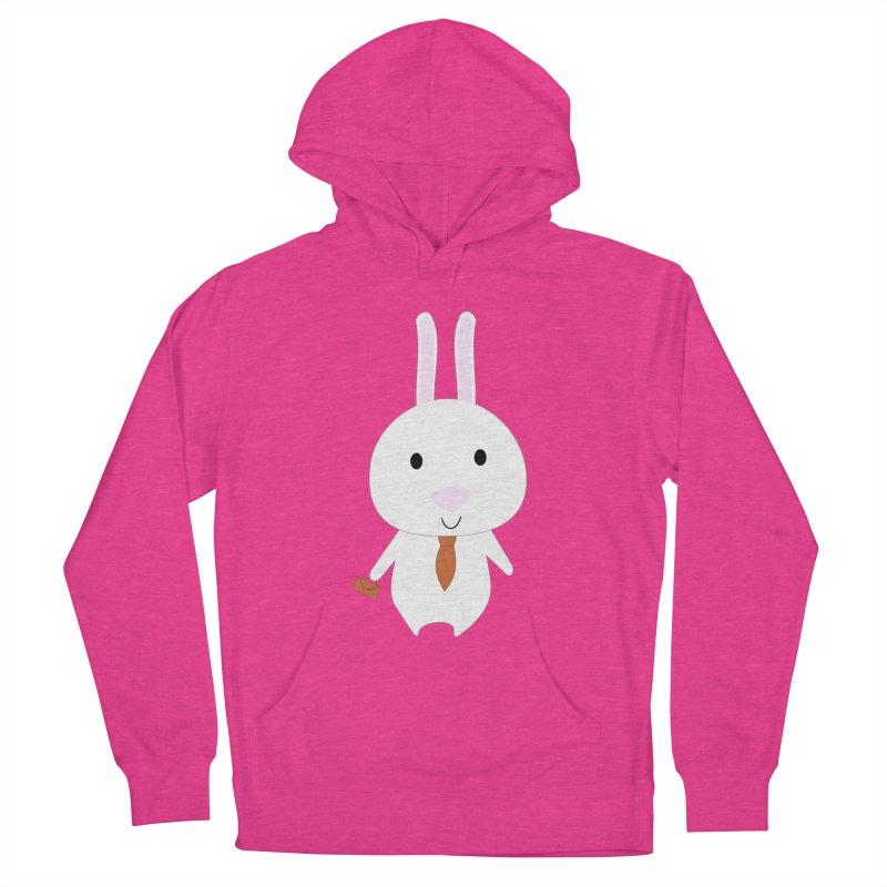 Mr Bunny Men's Pullover Hoody by 1001 bunnies