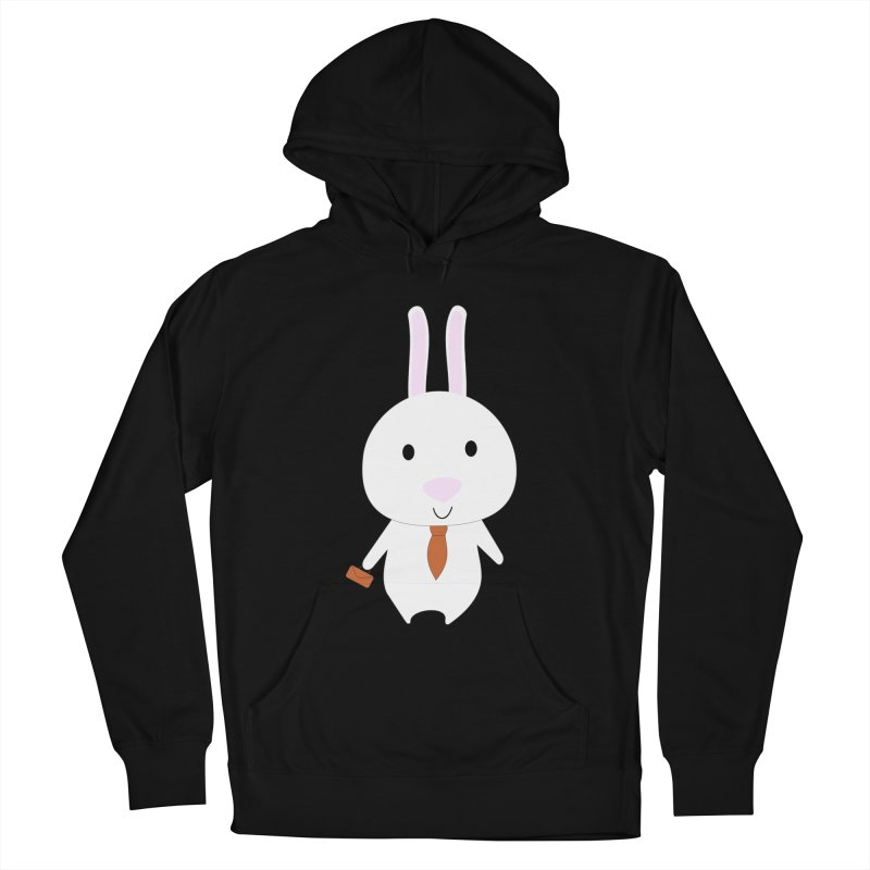 Mr Bunny Men's Pullover Hoody by 1001 bunnies