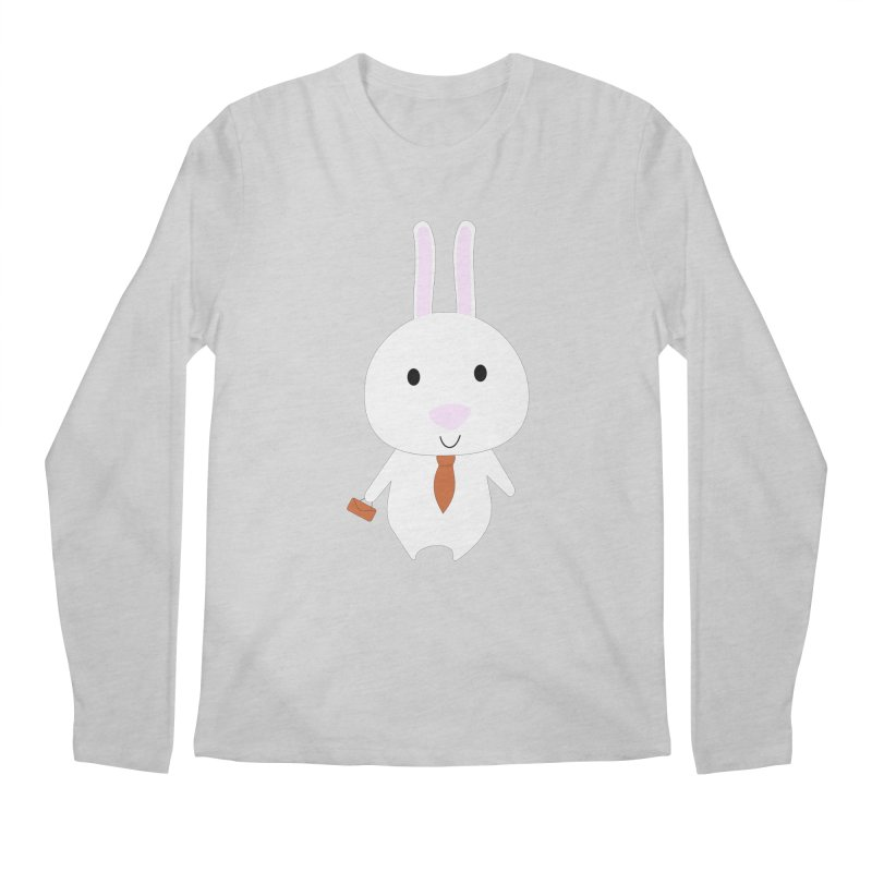 Mr Bunny Men's Longsleeve T-Shirt by 1001 bunnies