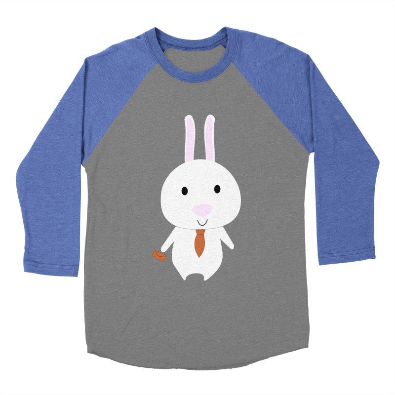 Mr Bunny Women's Baseball Triblend T-Shirt by 1001 bunnies