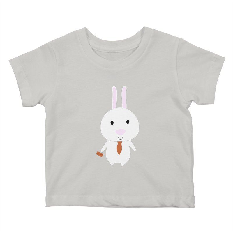 Mr Bunny Kids Baby T-Shirt by 1001 bunnies