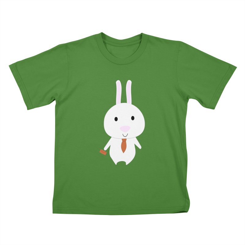 Mr Bunny Kids T-Shirt by 1001 bunnies