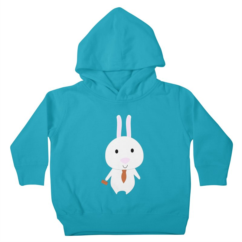 Mr Bunny Kids Toddler Pullover Hoody by 1001 bunnies