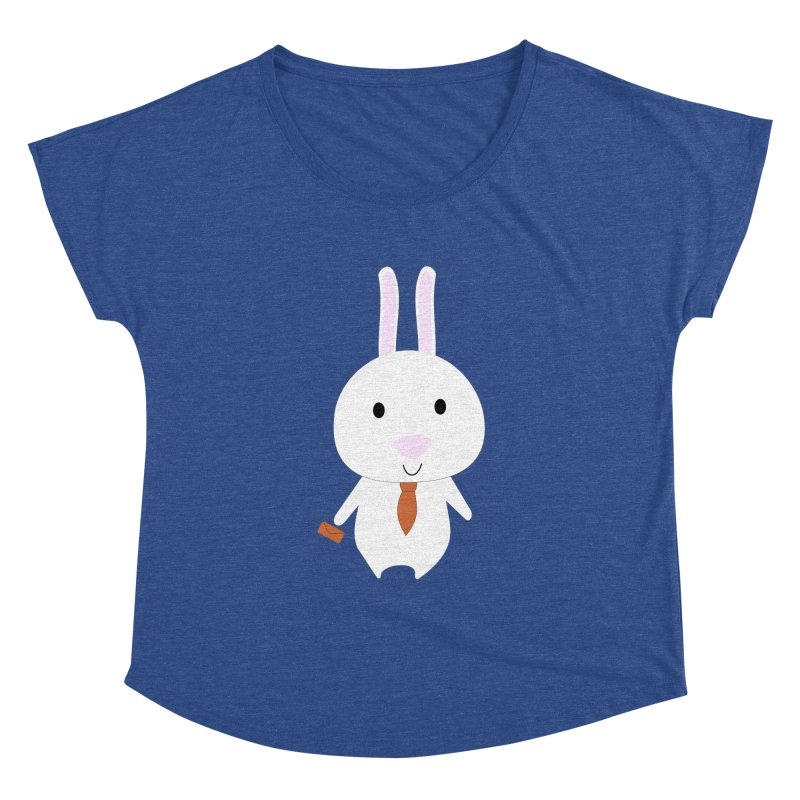 Mr Bunny Women's Dolman by 1001 bunnies