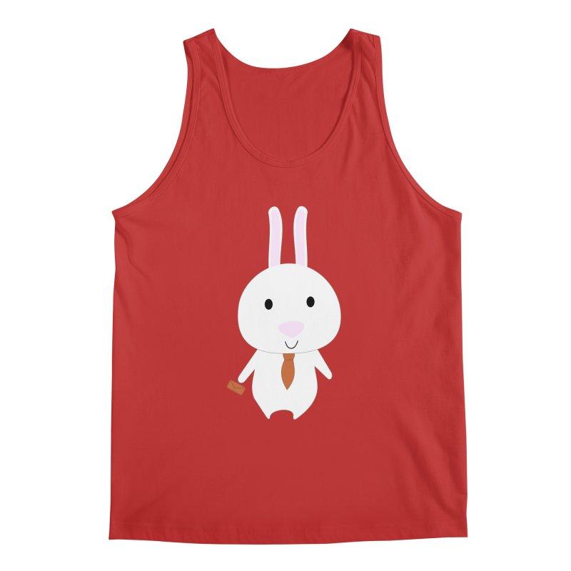 Mr Bunny Men's Tank by 1001 bunnies