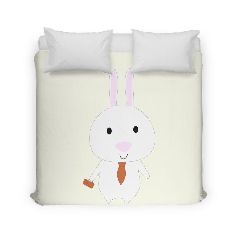 Mr Bunny Home Duvet by 1001 bunnies
