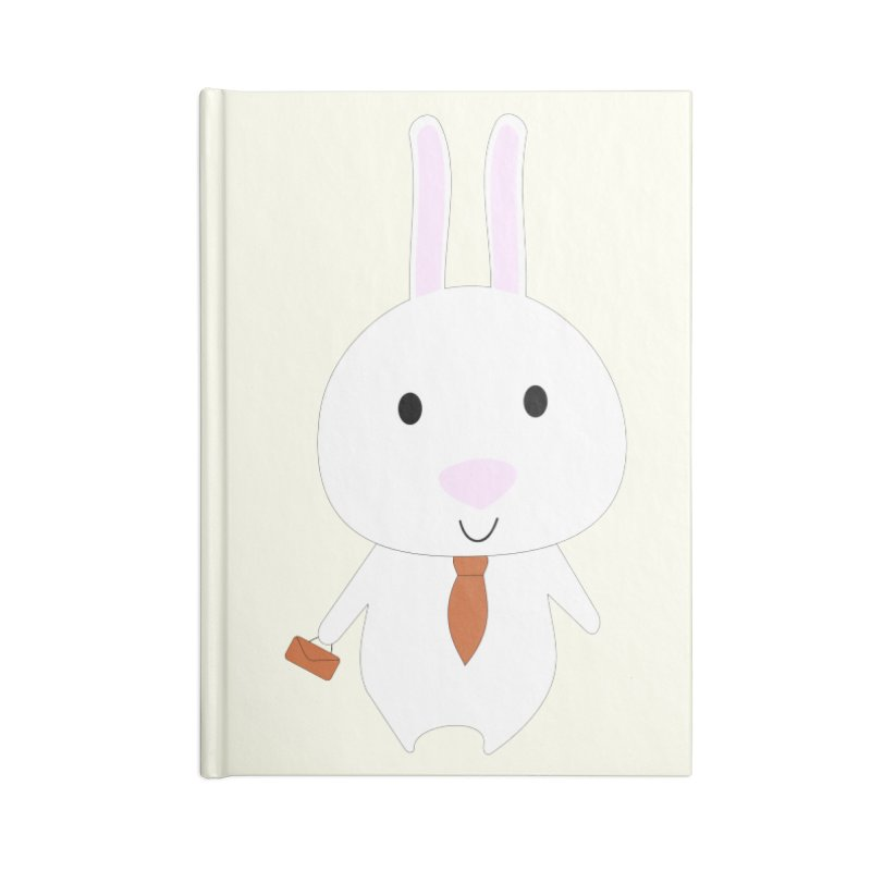 Mr Bunny Accessories Notebook by 1001 bunnies