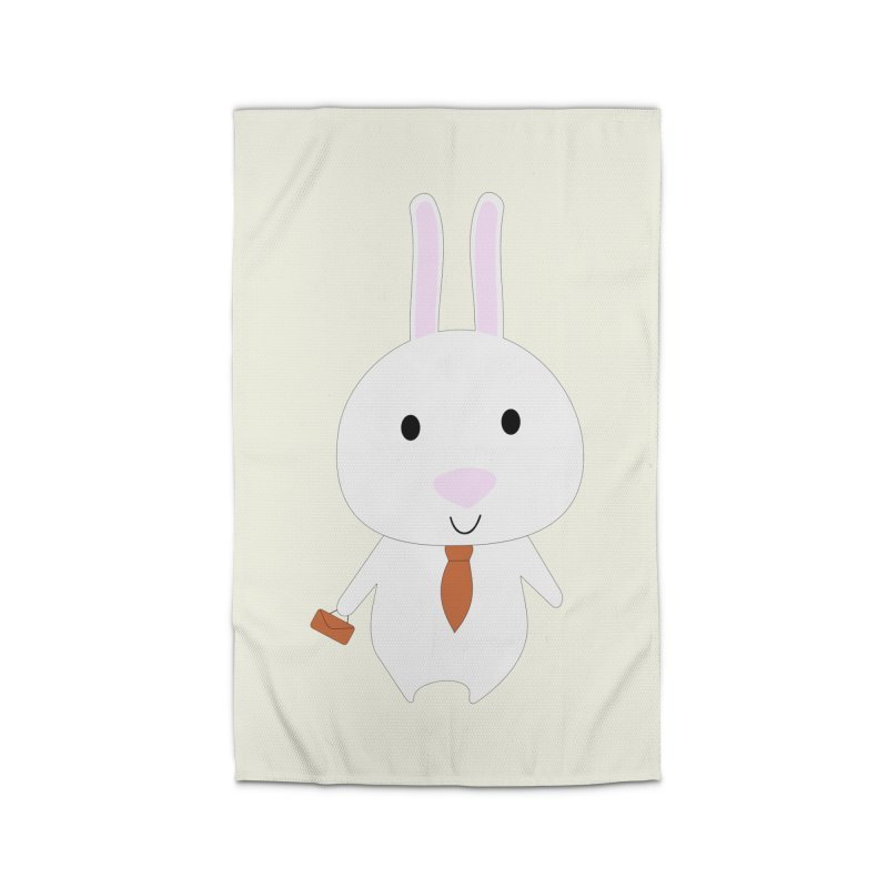 Mr Bunny Home Rug by 1001 bunnies