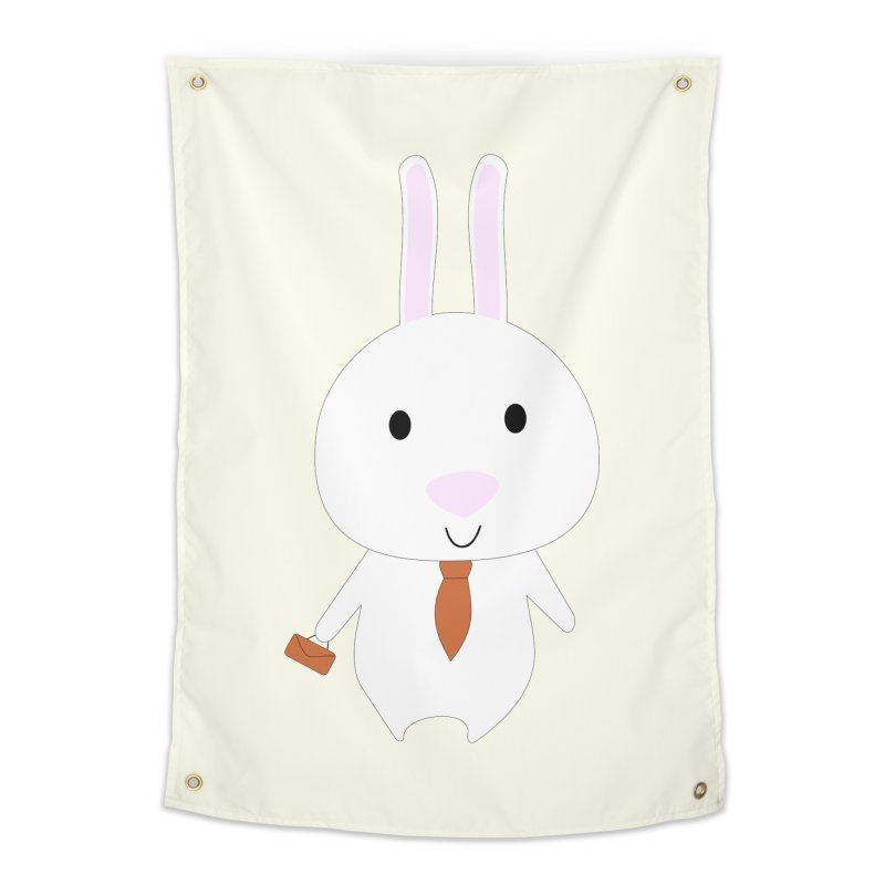 Mr Bunny Home Tapestry by 1001 bunnies