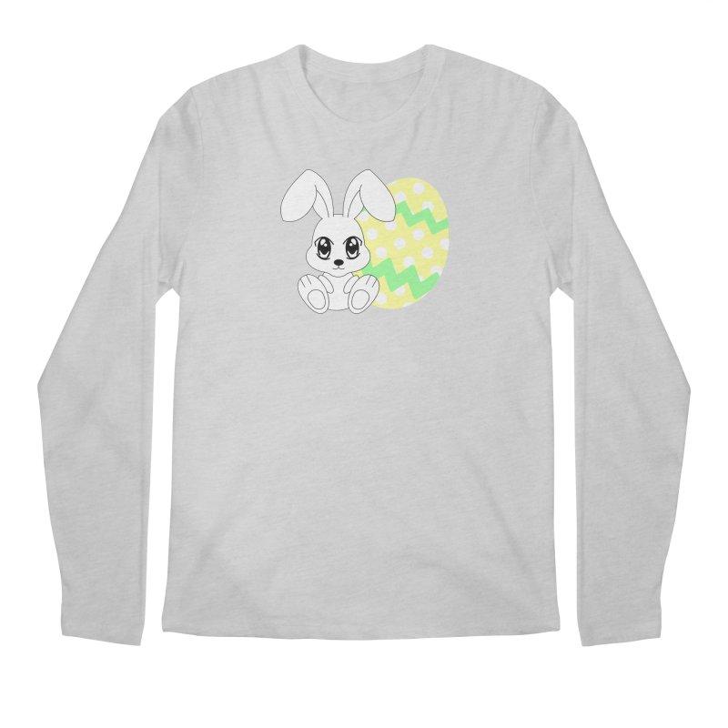 The Easter bunny Men's Longsleeve T-Shirt by 1001 bunnies