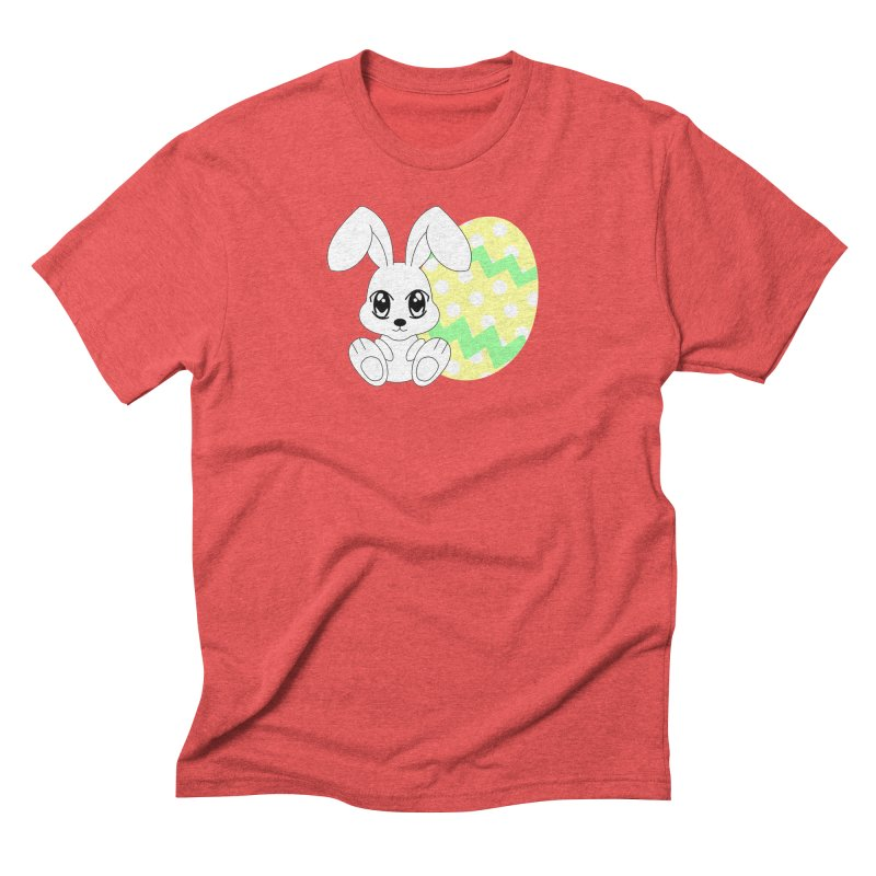 The Easter bunny Men's Triblend T-Shirt by 1001 bunnies