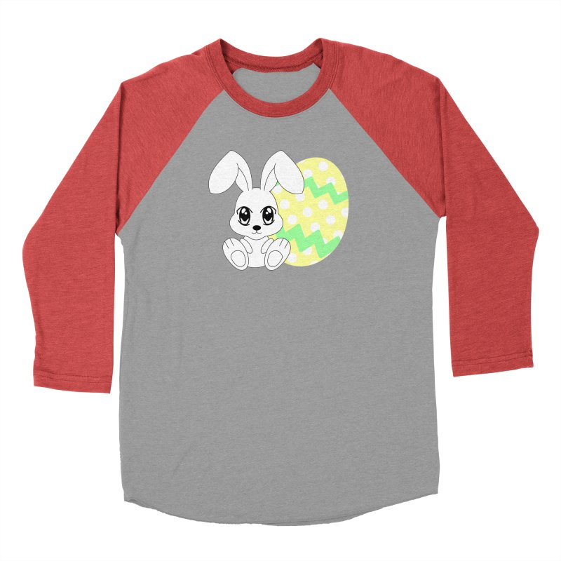 The Easter bunny Men's Baseball Triblend T-Shirt by 1001 bunnies