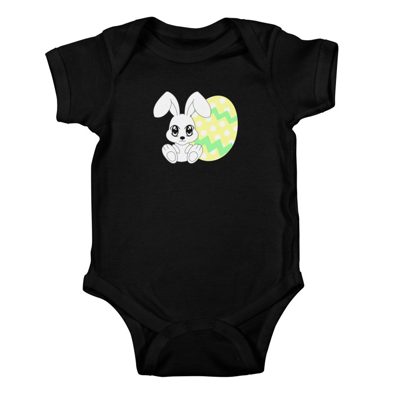 The Easter bunny Kids Baby Bodysuit by 1001 bunnies