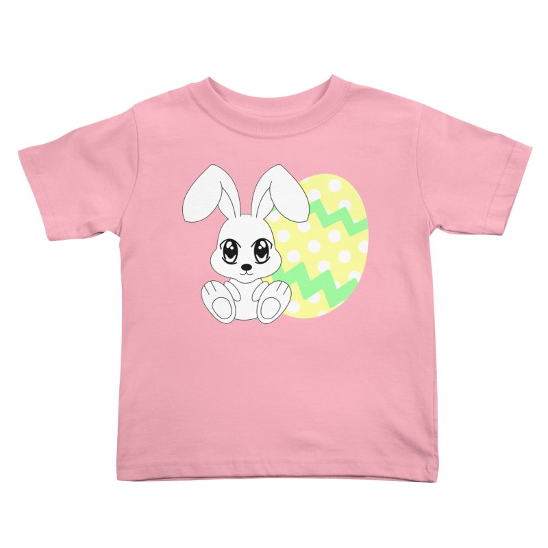 The Easter bunny Kids Toddler T-Shirt by 1001 bunnies