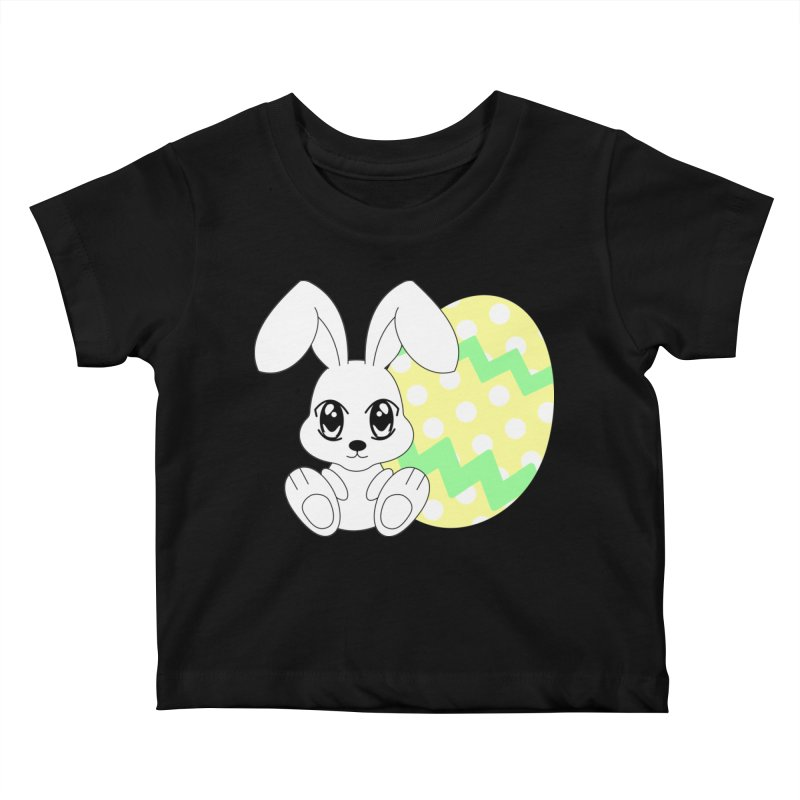 The Easter bunny Kids Baby T-Shirt by 1001 bunnies