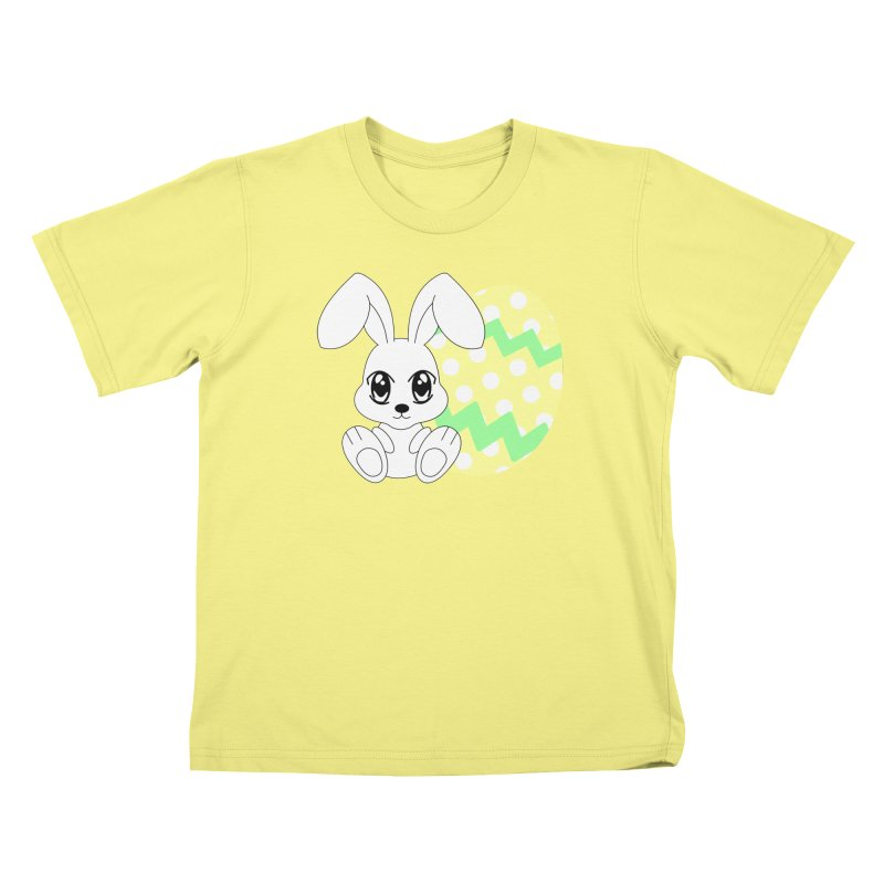 The Easter bunny Kids T-shirt by 1001 bunnies