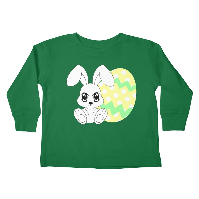 The Easter bunny Kids Toddler Longsleeve T-Shirt by 1001 bunnies