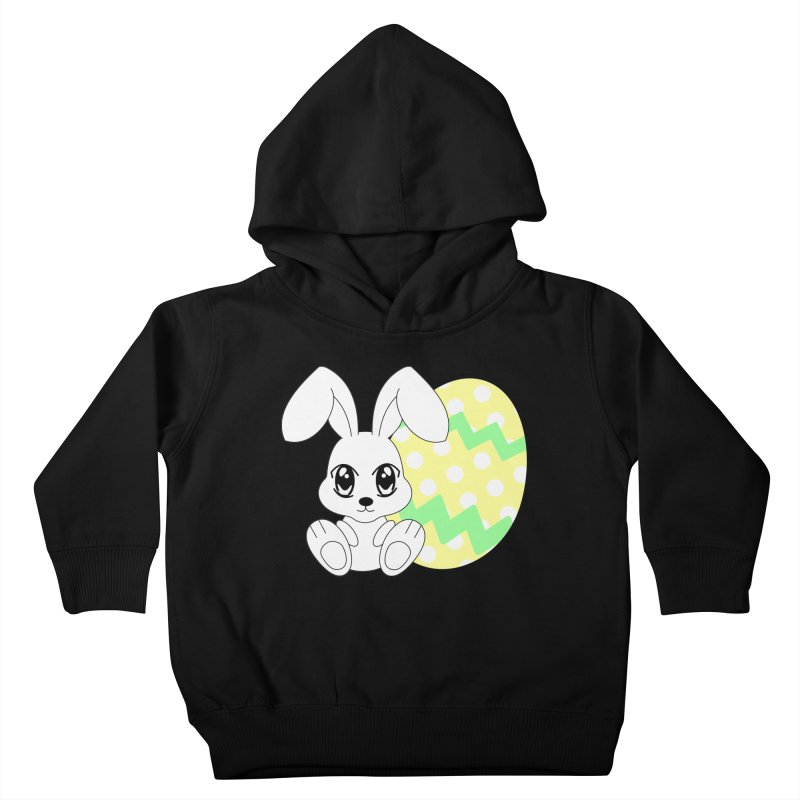 The Easter bunny Kids Toddler Pullover Hoody by 1001 bunnies