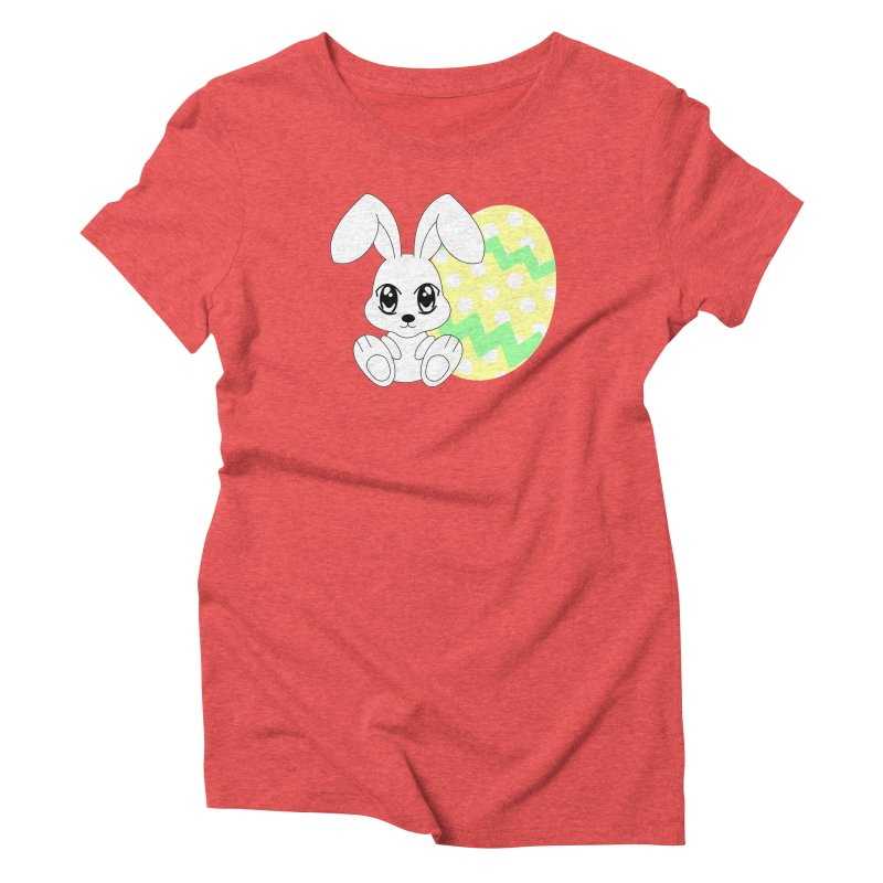The Easter bunny Women's Triblend T-shirt by 1001 bunnies