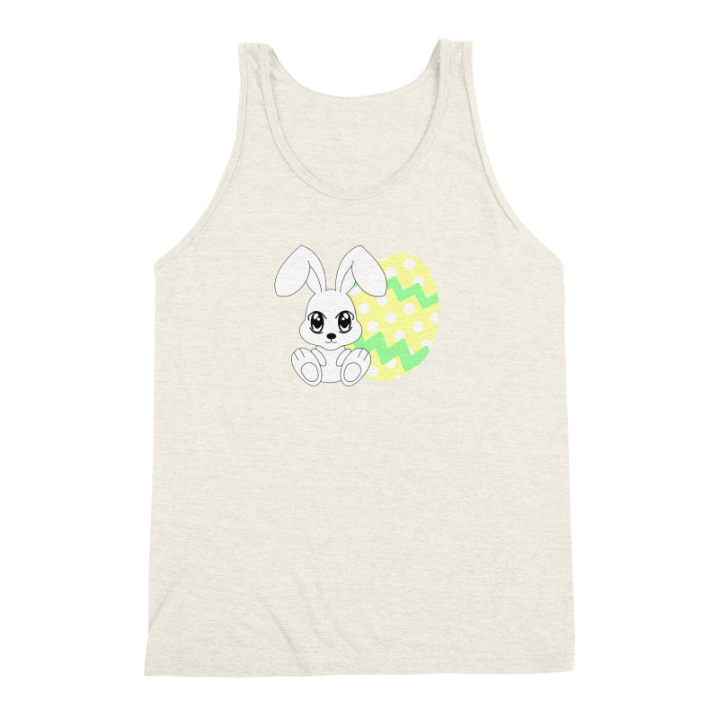 The Easter bunny Men's Triblend Tank by 1001 bunnies