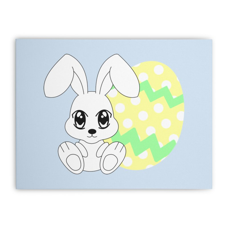 The Easter bunny Home Stretched Canvas by 1001 bunnies