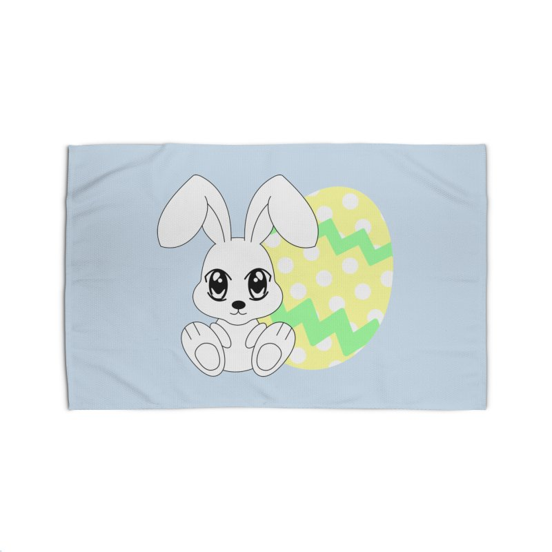 The Easter bunny Home Rug by 1001 bunnies
