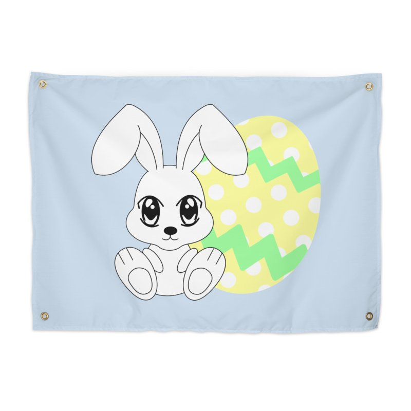 The Easter bunny Home Tapestry by 1001 bunnies