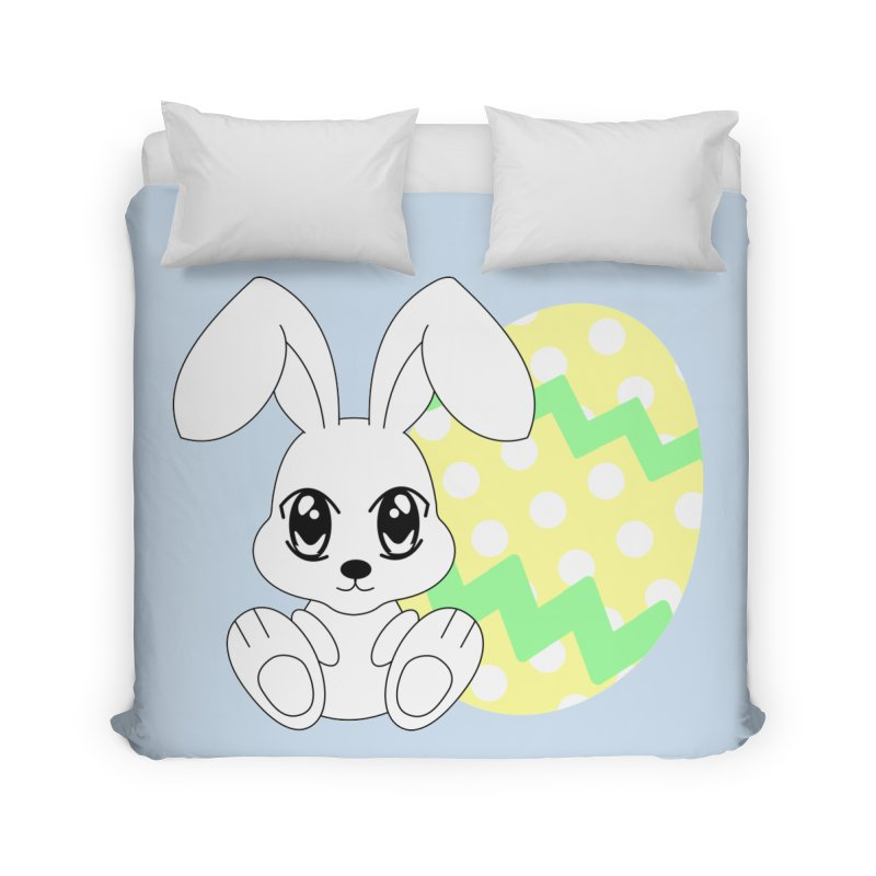 The Easter bunny Home Duvet by 1001 bunnies