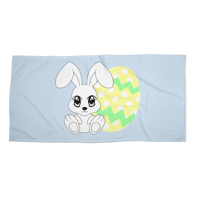 The Easter bunny Accessories Beach Towel by 1001 bunnies