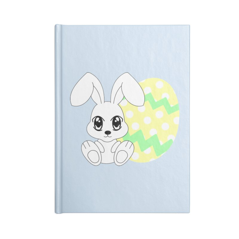 The Easter bunny Accessories Notebook by 1001 bunnies