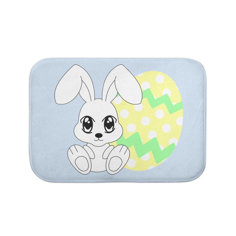 The Easter bunny Home Bath Mat by 1001 bunnies