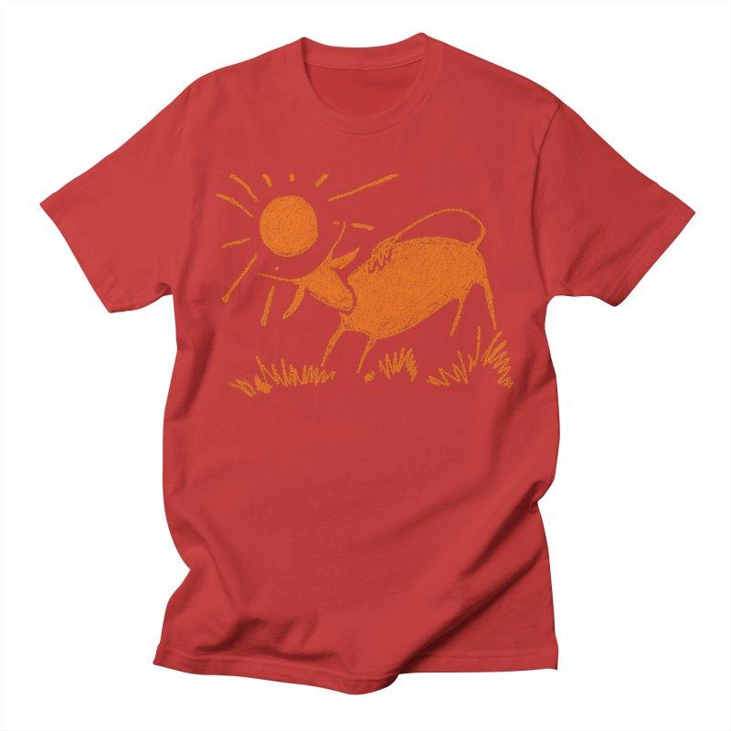 Bull Men's T-Shirt by kouzza's Artist Shop