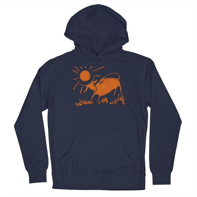 Bull Men's Pullover Hoody by kouzza's Artist Shop