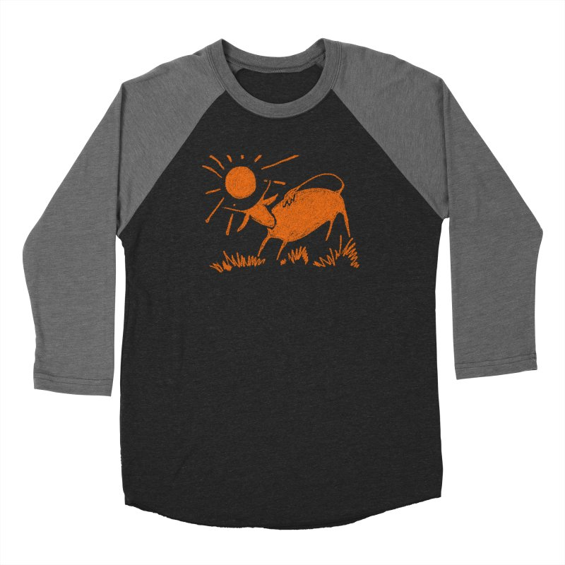 Bull Women's Longsleeve T-Shirt by kouzza's Artist Shop