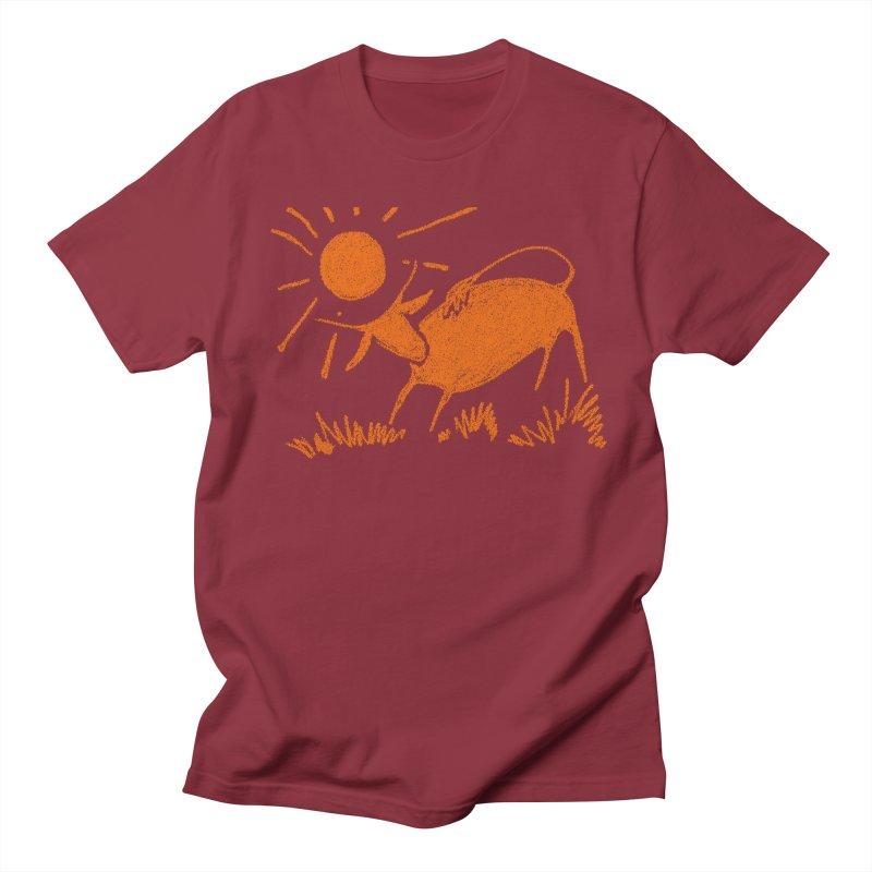 Bull Men's Regular T-Shirt by kouzza's Artist Shop
