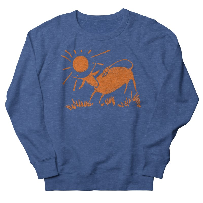 Bull Men's Sweatshirt by kouzza's Artist Shop