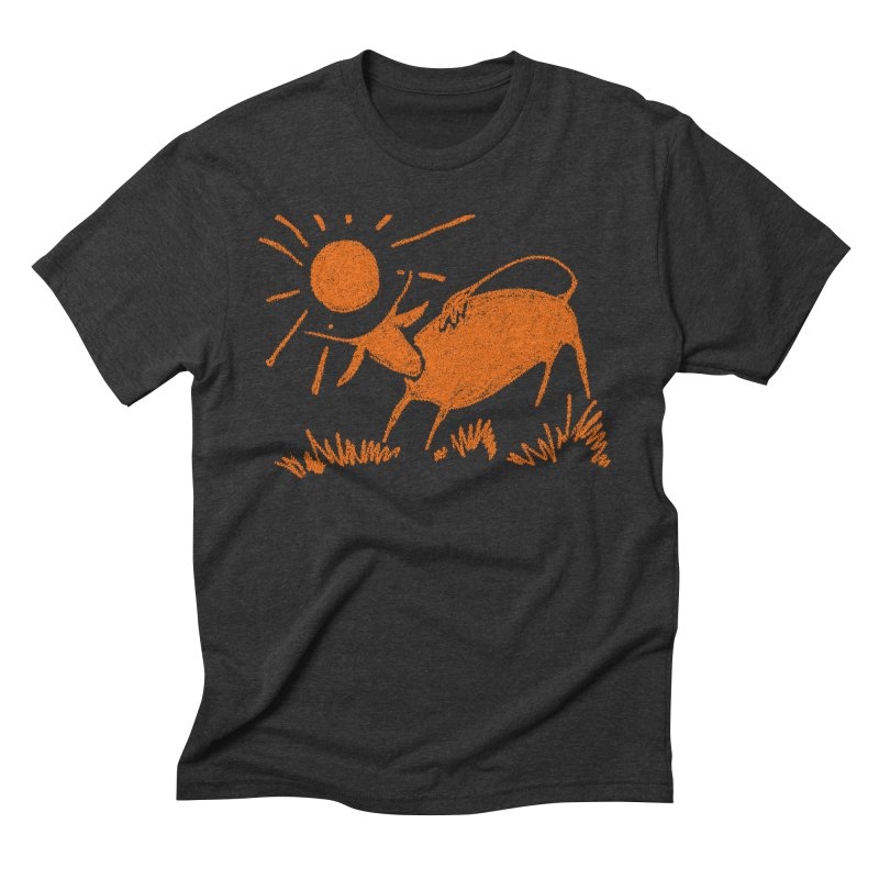 Bull Men's Triblend T-Shirt by kouzza's Artist Shop