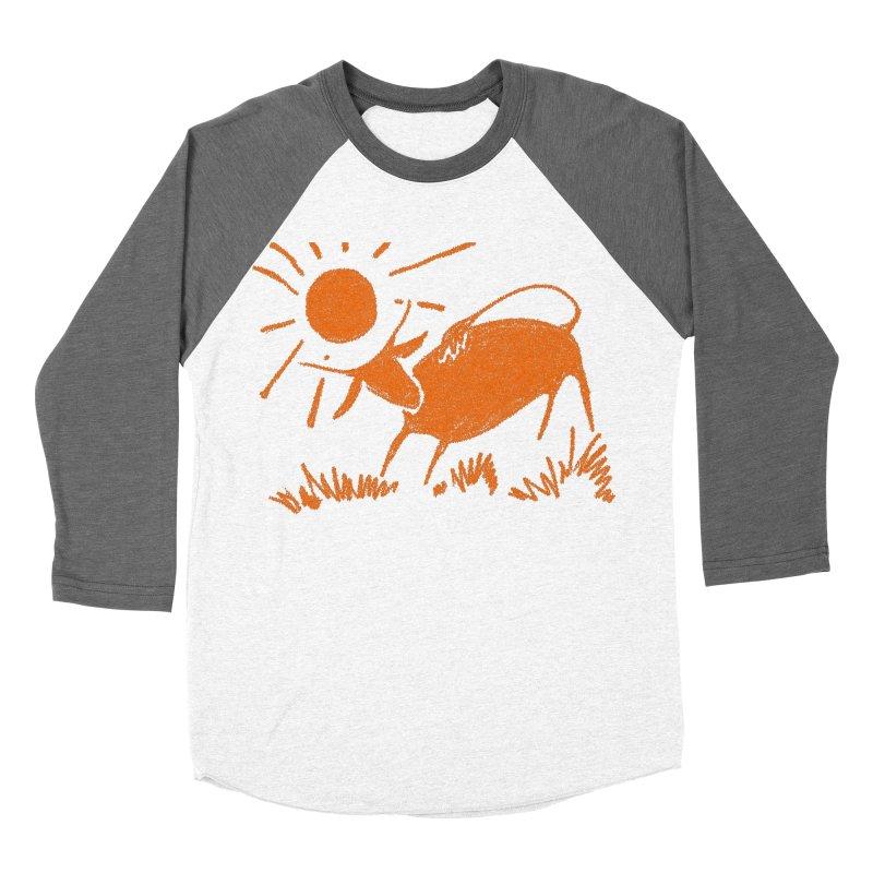 Bull Men's Baseball Triblend Longsleeve T-Shirt by kouzza's Artist Shop