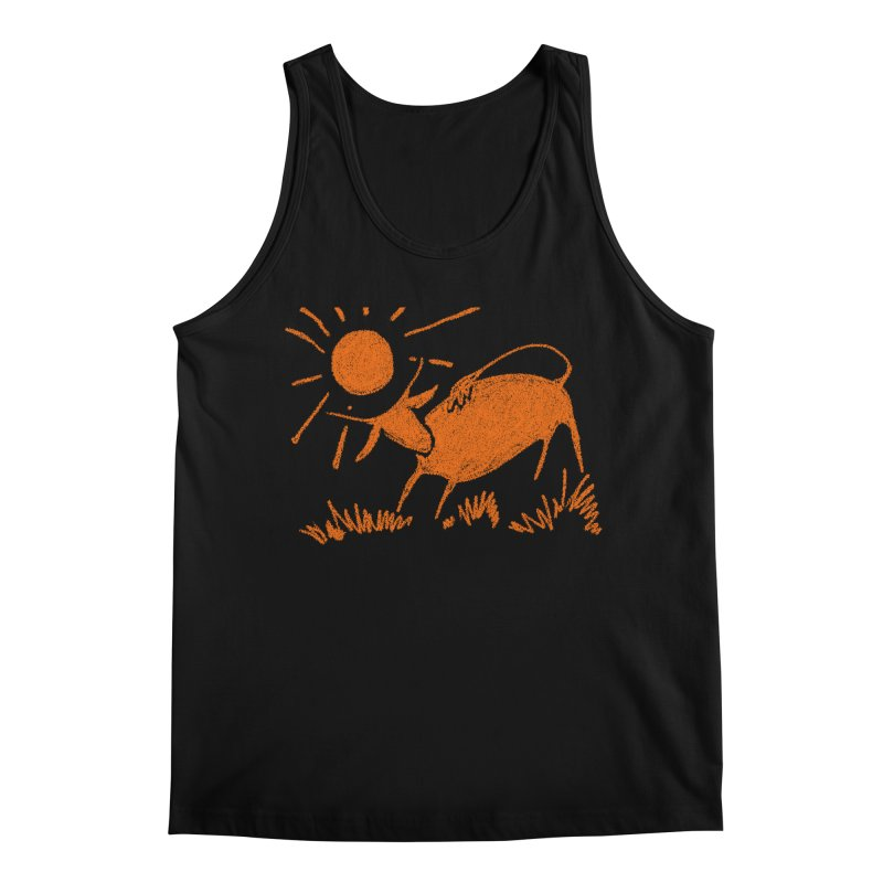 Bull Men's Regular Tank by kouzza's Artist Shop