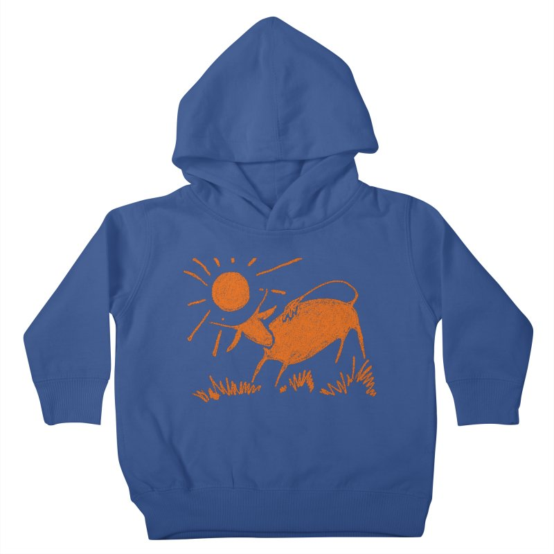 Bull Kids Toddler Pullover Hoody by kouzza's Artist Shop