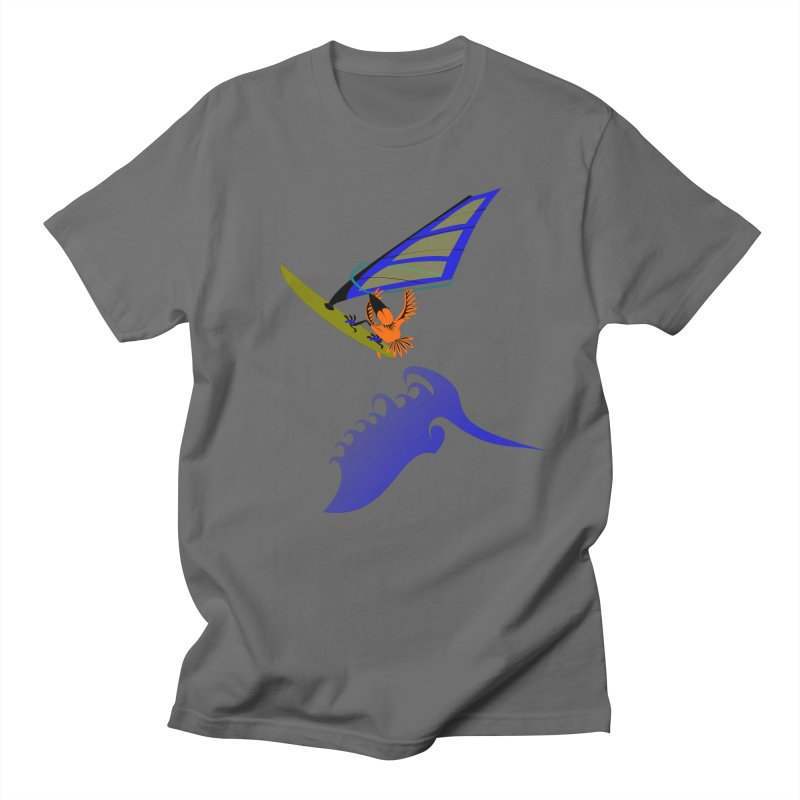 Windsurfing  Men's T-Shirt by kouzza's Artist Shop