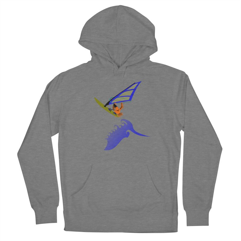 Windsurfing  Women's Pullover Hoody by kouzza's Artist Shop