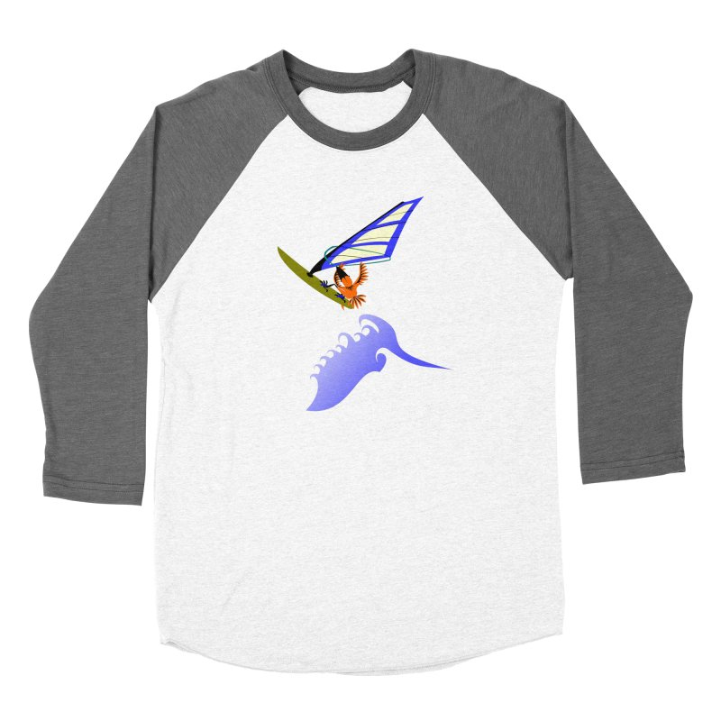 Windsurfing  Women's Longsleeve T-Shirt by kouzza's Artist Shop